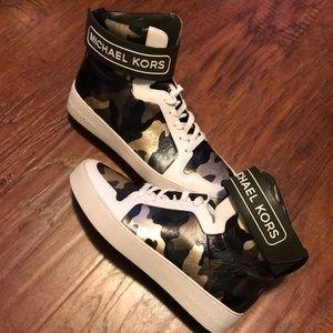MICHAEL MICHAEL KORS Camo High-Top Sneaker